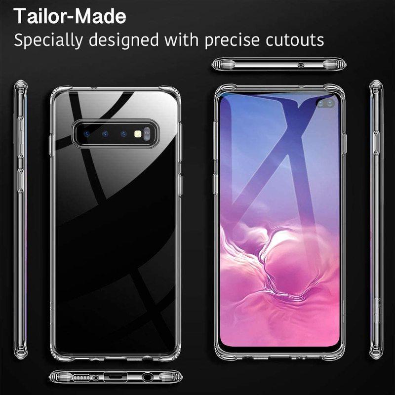 Galaxy S10 Plus Essential Slim Clear Soft TPU Case2