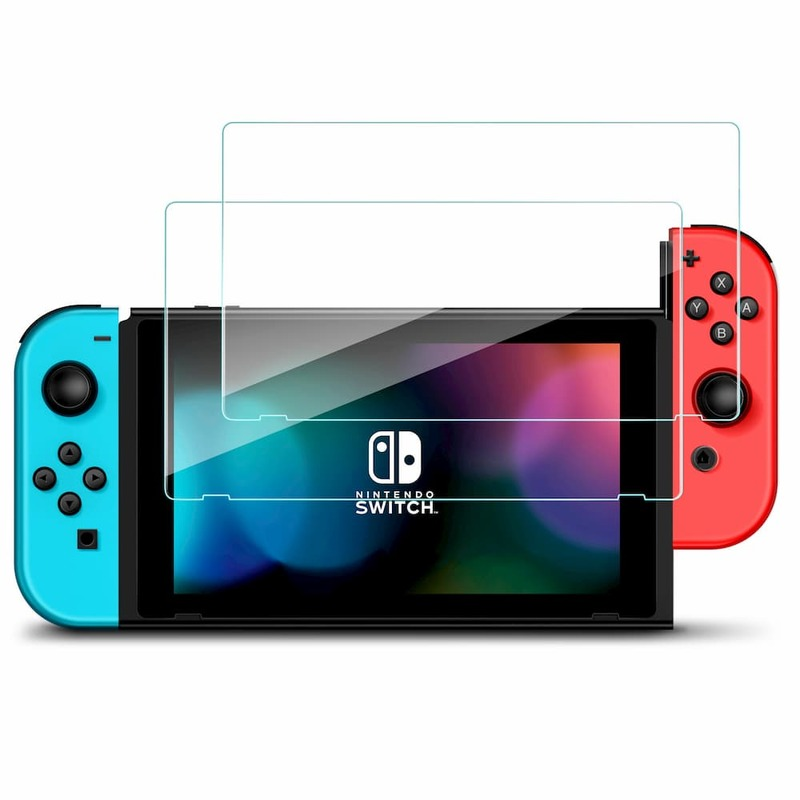 Nintendo Switch Tempered Glass Screen Protector 2 pack