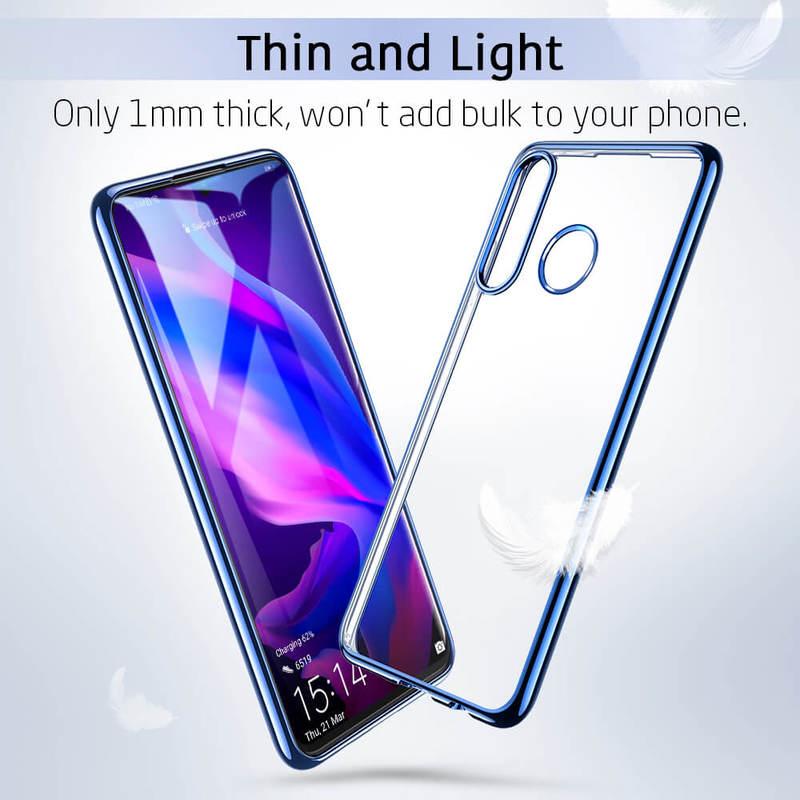 P30 Lite Essential Slim Clear Soft TPU Case 1