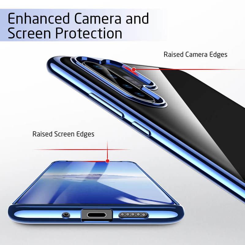 P30 Pro Essential Slim Clear Soft TPU Case4