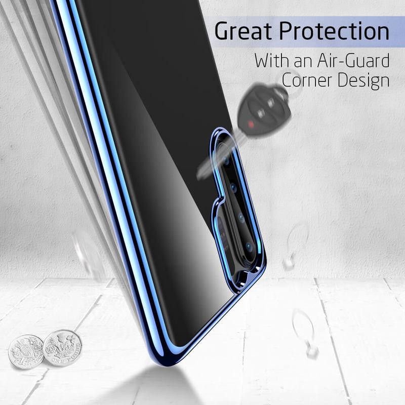 P30 Pro Essential Slim Clear Soft TPU Case5