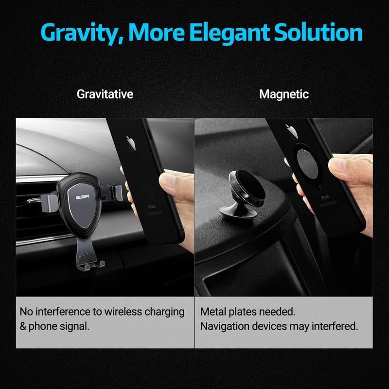 gravity car phone holder 3