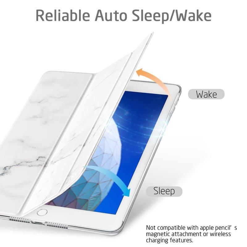 iPad Mini 5 2019 Marble Trifold Case 2