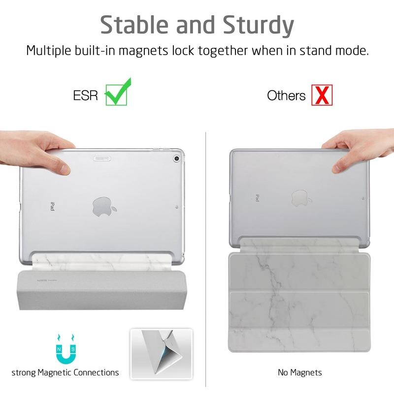 iPad Mini 5 2019 Marble Trifold Case 5