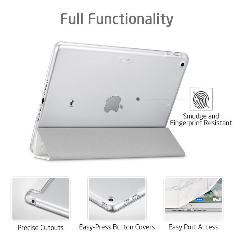iPad Mini 5 2019 Marble Trifold Case 6