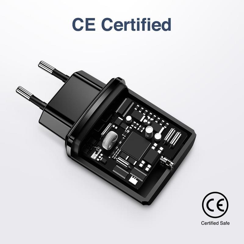 18W PD Wall Charger 1 USB C Port EU 4
