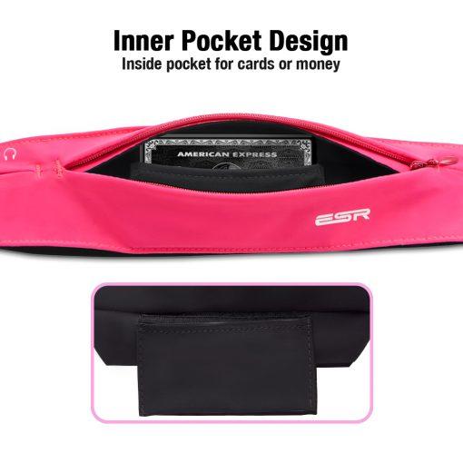 Running Belt Waist Pack pink7