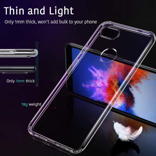 Pixel 3 XL Essential Slim Clear Soft TPU Case1