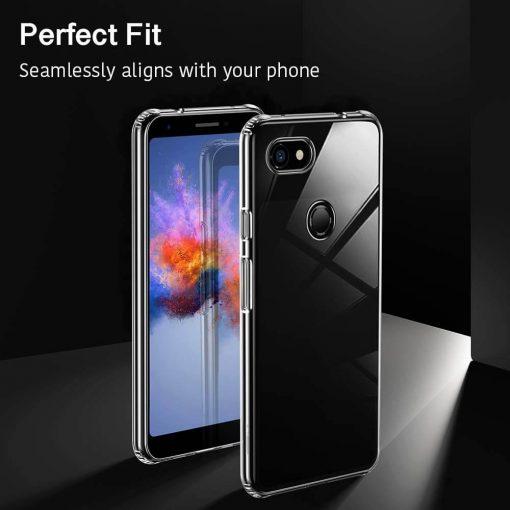 Pixel 3 XL Essential Slim Clear Soft TPU Case3