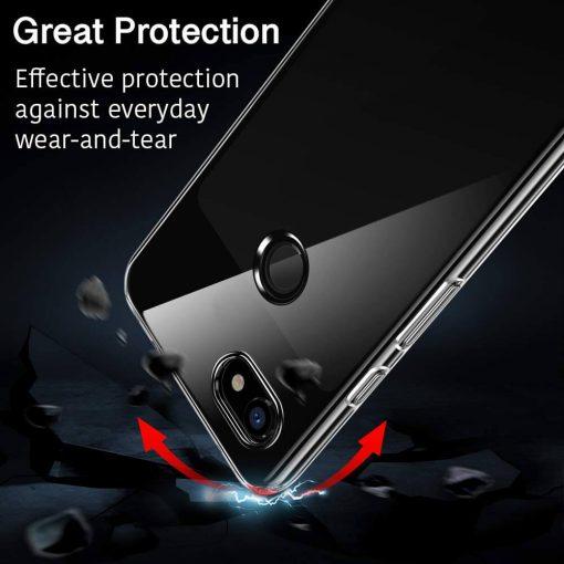 Pixel 3 XL Essential Slim Clear Soft TPU Case4