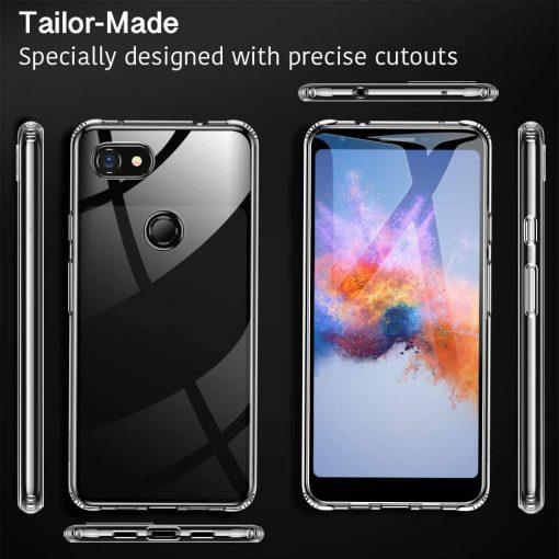Pixel 3 XL Essential Slim Clear Soft TPU Case5