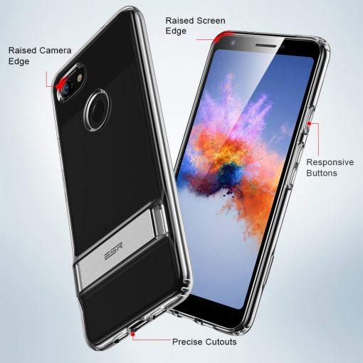 Pixel 3a Metal Kickstand Case5