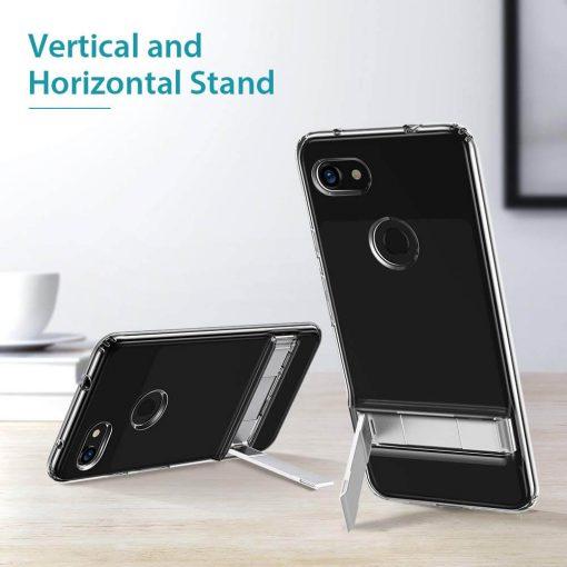 Pixel 3a XL Metal Kickstand Case1