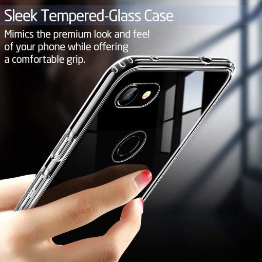 Pixel 3a XL Mimic Tempered Glass Case3