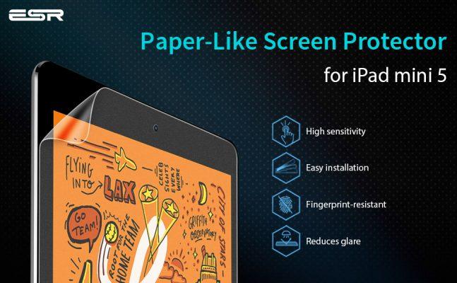 iPad Mini 5 2019Mini 4 Paper-Like Screen Protector