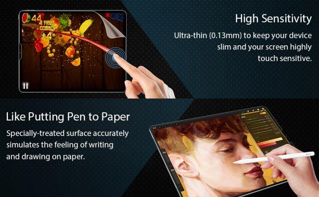iPad Pro 12.9 2018 Paper-Like Screen Protector