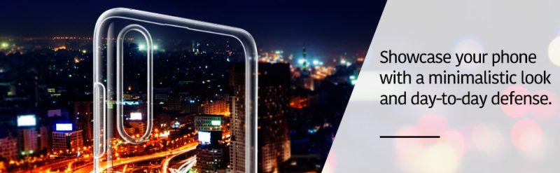 Galaxy A70 Essential Slim Clear Soft TPU Case 1 1