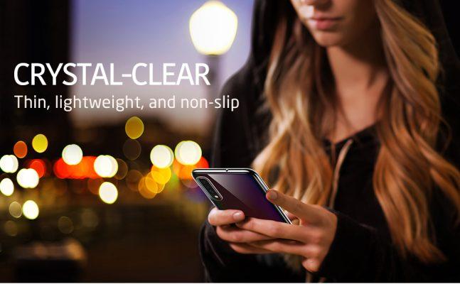 Galaxy A70 Essential Slim Clear Soft TPU Case 2 1