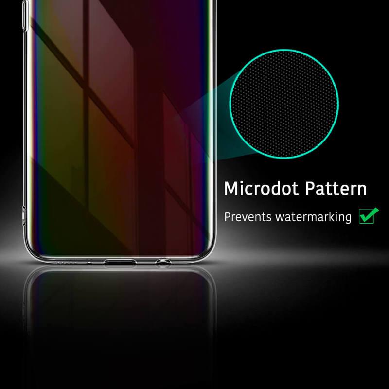 Galaxy A70 Essential Slim Clear Soft TPU Case 6