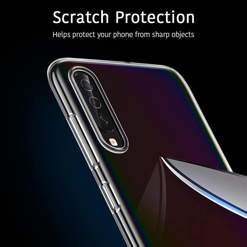 Galaxy A70 Essential Slim Clear Soft TPU Case 7