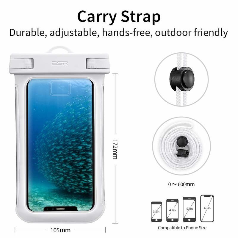 Universal Waterproof Phone Pouch4