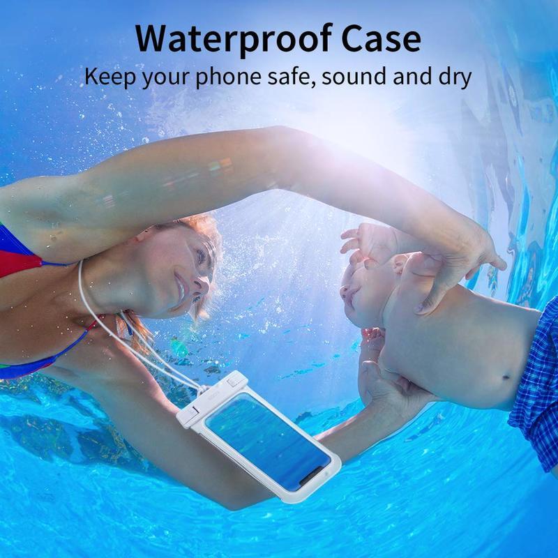 Universal Waterproof Phone Pouch7