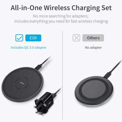 7.5W 10W Wireless Charging Set UK Plug1
