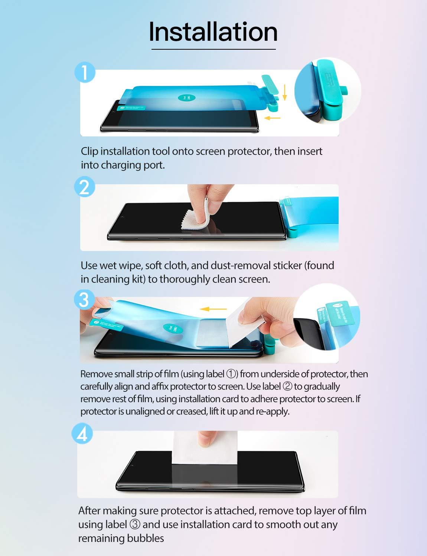 Galaxy Note 10 Liquid Skin Full Coverage Screen Protector6