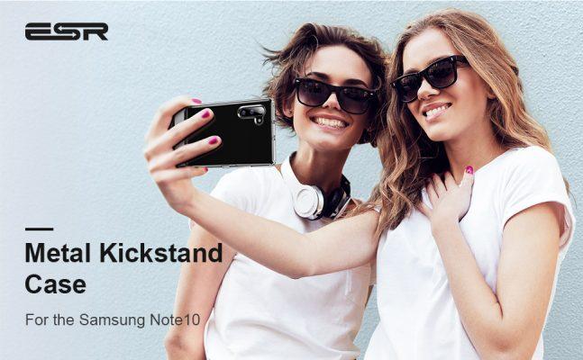 Galaxy Note 10 Metal Kickstand Case 4