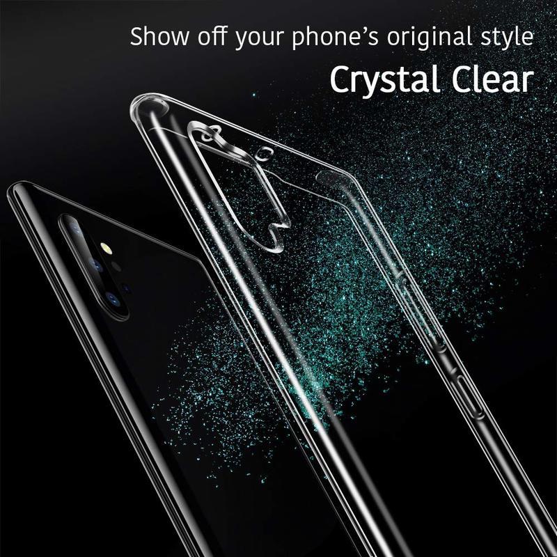 Galaxy Note 10 Plus Essential Slim Clear Soft TPU Case2