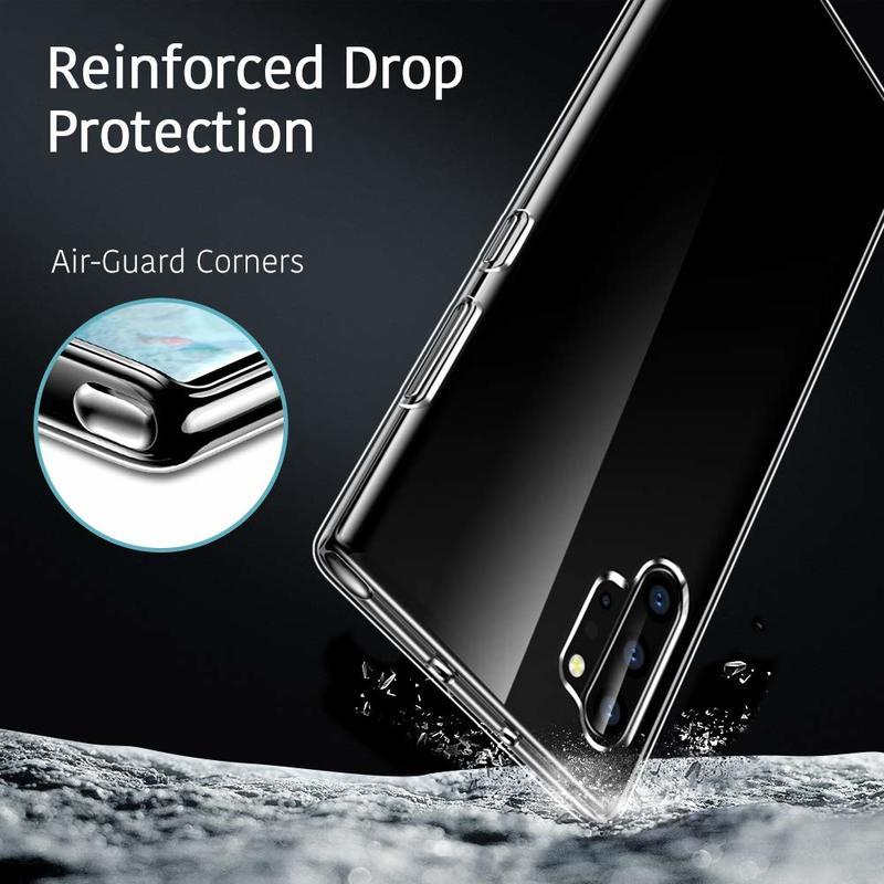 Galaxy Note 10 Plus Essential Slim Clear Soft TPU Case3