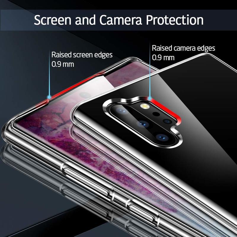Galaxy Note 10 Plus Essential Slim Clear Soft TPU Case4