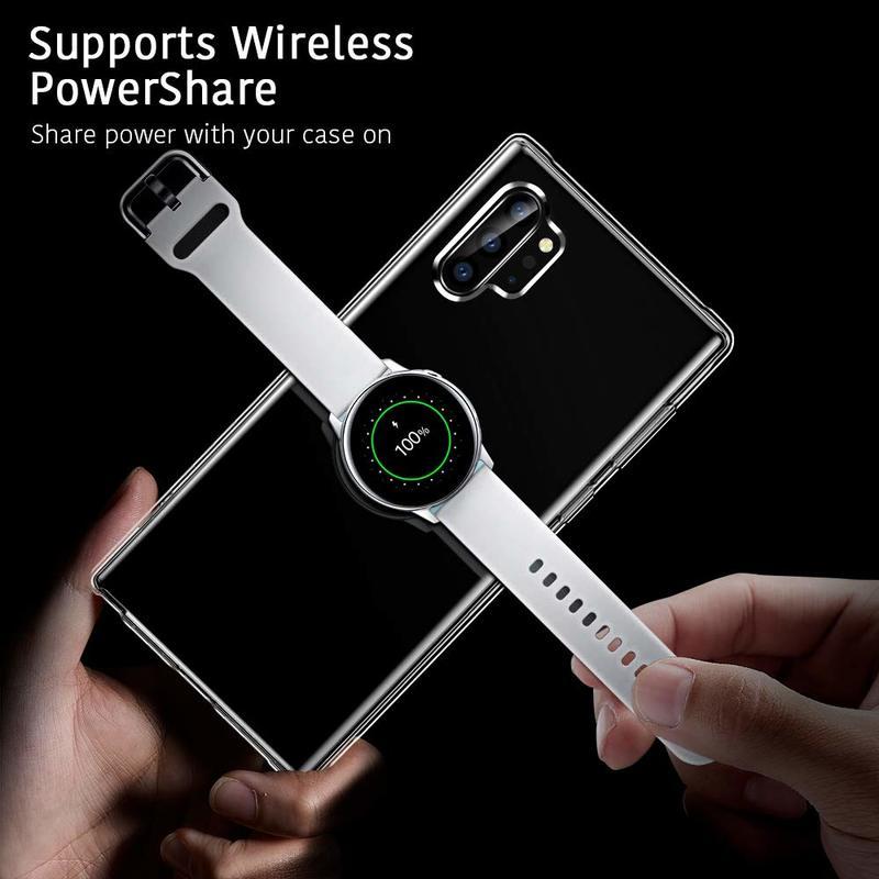 Galaxy Note 10 Plus Essential Slim Clear Soft TPU Case7