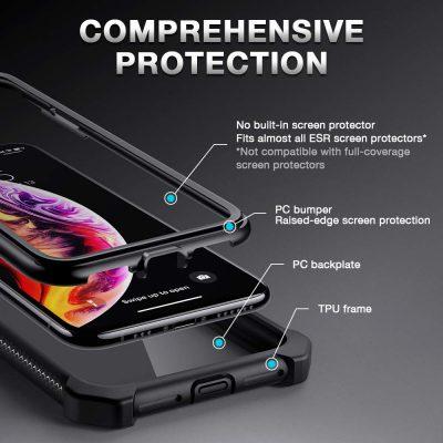 iPhone XS X Bastion Hybrid Tough Case1