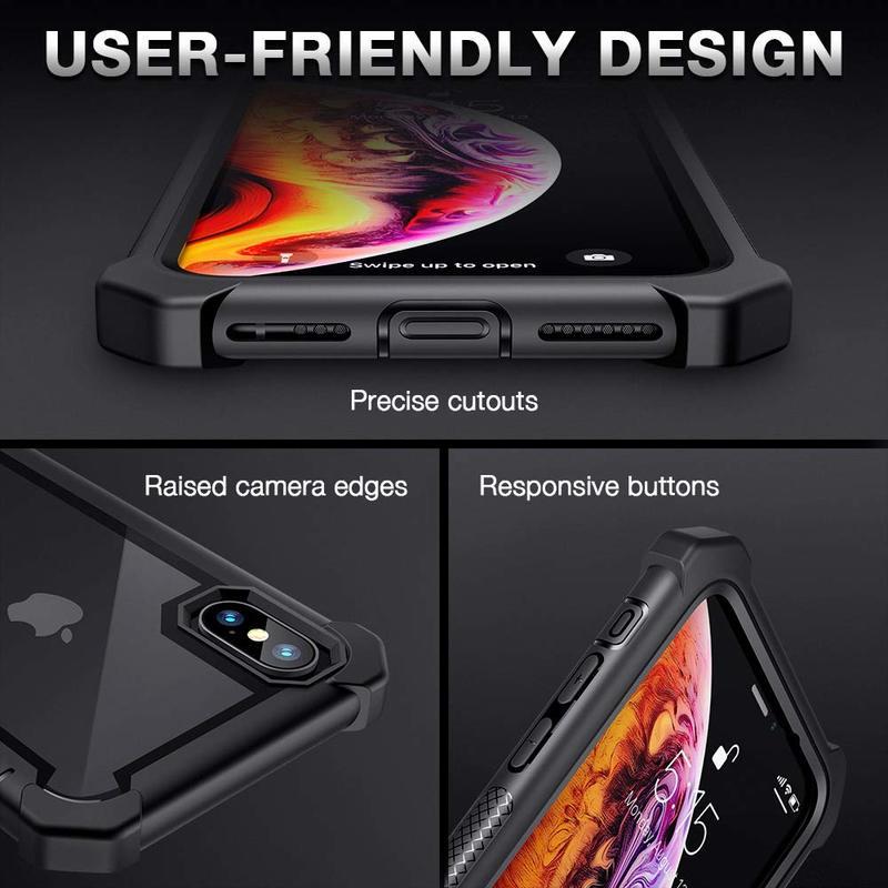 iPhone XS X Bastion Hybrid Tough Case3