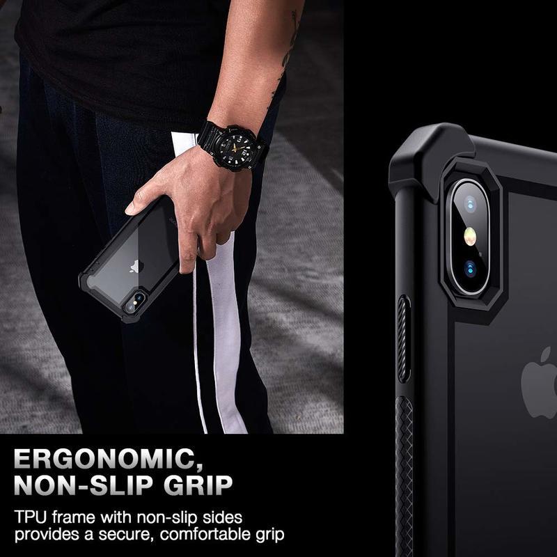 iPhone XS X Bastion Hybrid Tough Case5