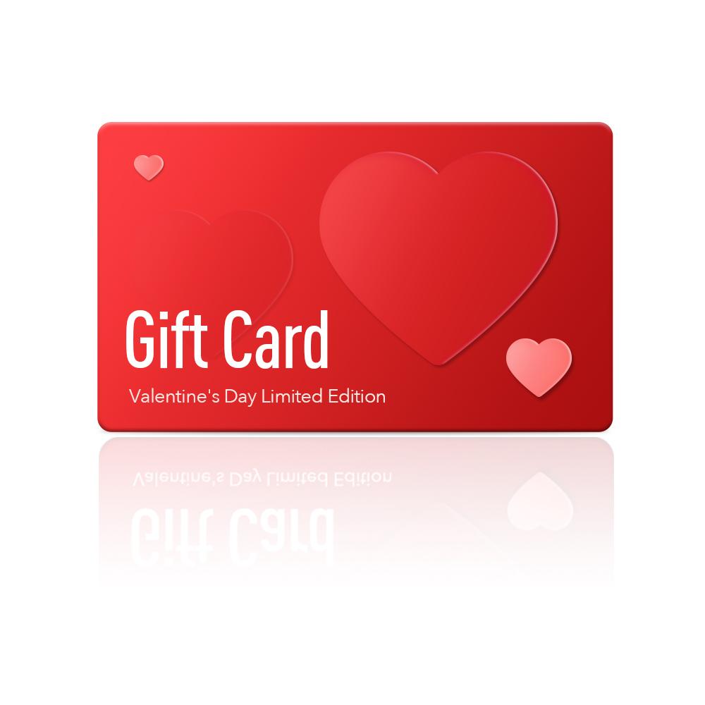 情人节gift card