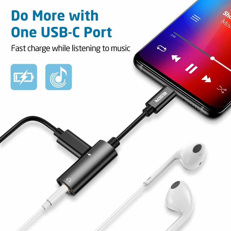 2 in 1 USB C PD Headphone Jack Adapter1
