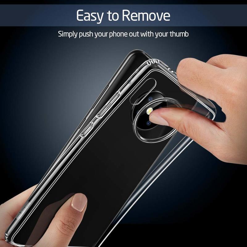 Pixel 4 Essential Zero Slim Clear Soft TPU Case 1