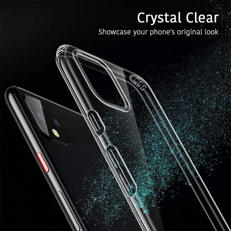 Pixel 4 Essential Zero Slim Clear Soft TPU Case 3