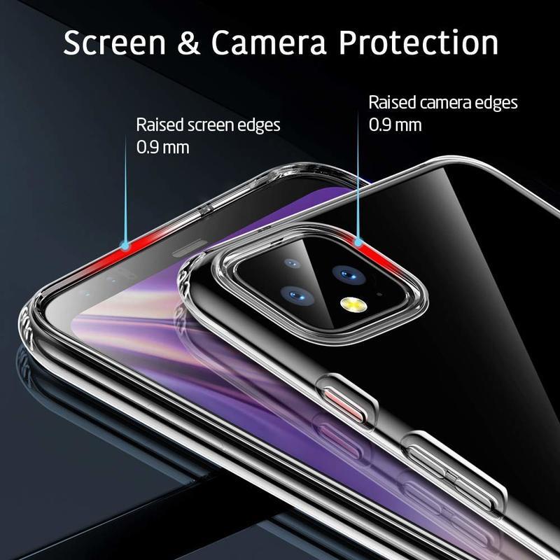 Pixel 4 Essential Zero Slim Clear Soft TPU Case 5