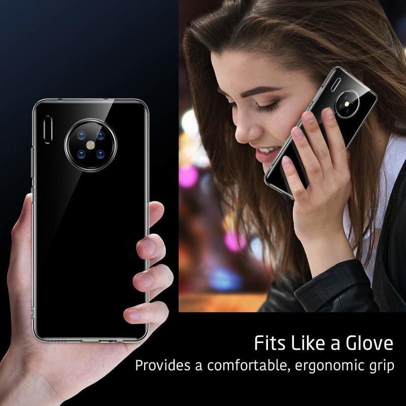 Huawei Mate 30 Essential Zero Slim Clear Soft TPU Case 2