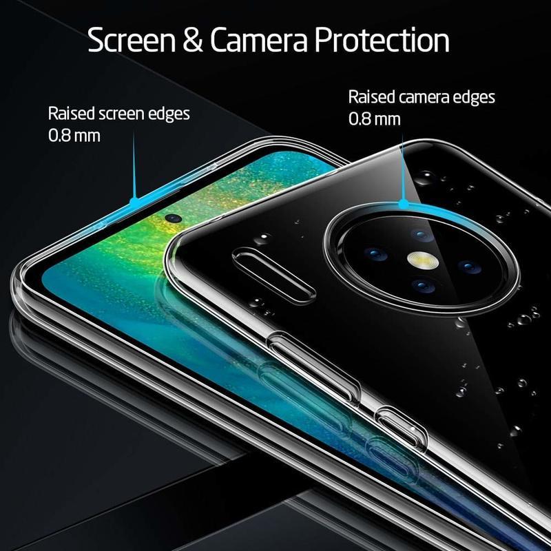 Huawei Mate 30 Essential Zero Slim Clear Soft TPU Case 3