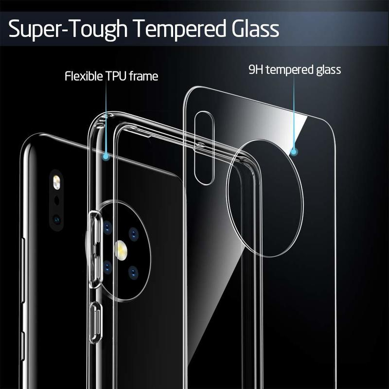 Huawei Mate 30 Mimic Tempered Glass Case 5