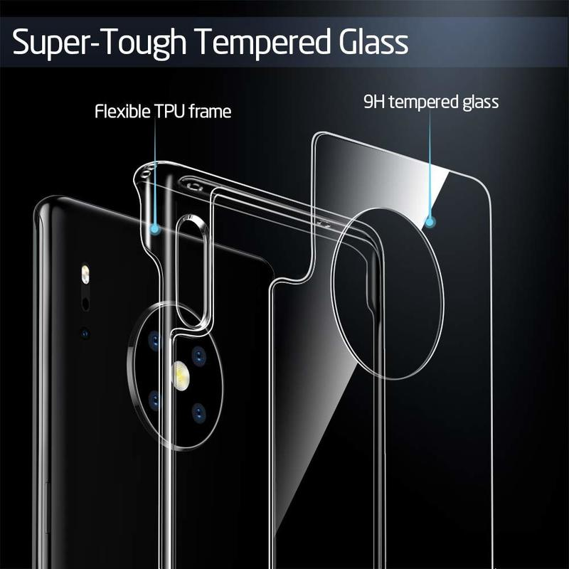 Huawei Mate 30 Pro Mimic Tempered Glass Case 2