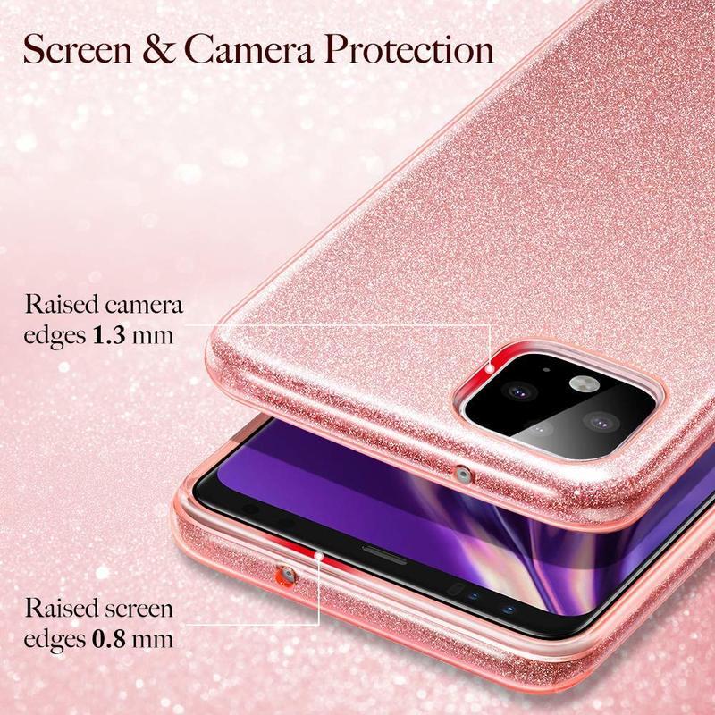 Pixel 4 Makeup Glitter Case 8