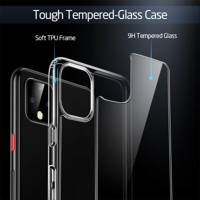 Pixel 4 Mimic Tempered Glass Case 3
