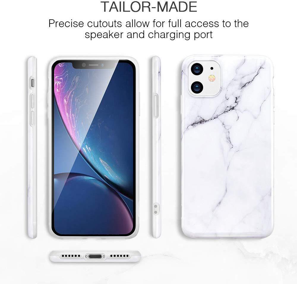 iPhone 11 Marble Slim Soft Case 8