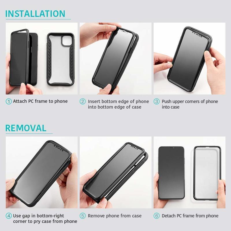 iPhone 11 Pro Hybrid Armor 360 Case 6