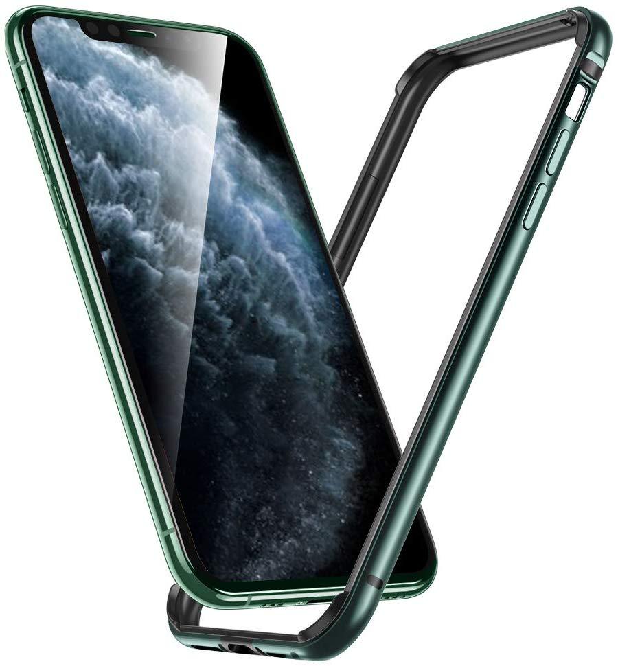 iPhone 11 Pro Max Crown Metal Bumper Case 2 1
